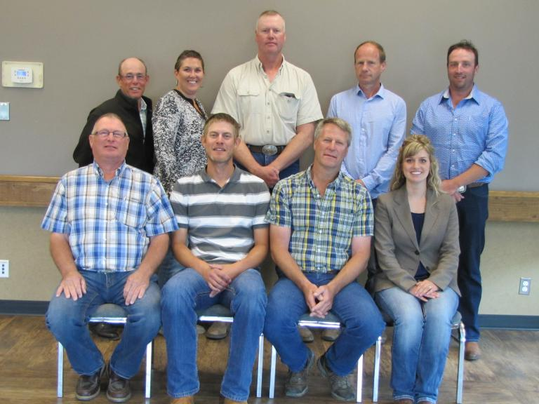 Canadian Limousin Association Board of Directors 2016